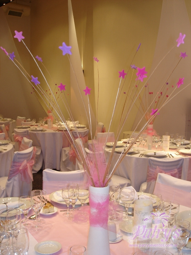 Centros de mesa con velas - Mesas de centro de cristal ...